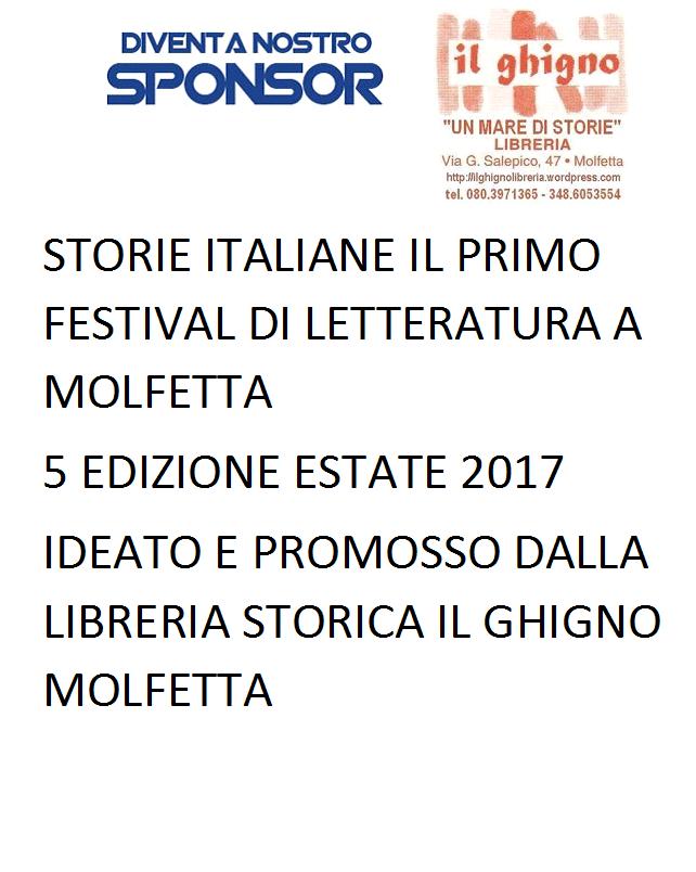 DIVENTA SPONSOR DI STORIE ITALIANE